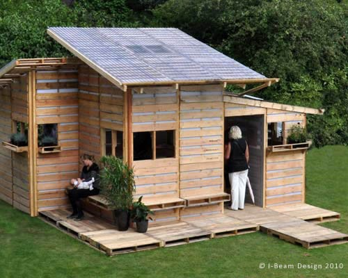 THE PALLET HOUSE PROJECT IBeam